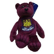 West Ham United Fc Soft Touch Beanie Bear