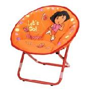 Dora Metal Folding Chair