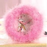 Secret Wings Fluffy Clock