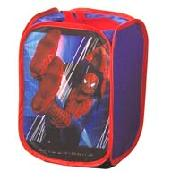 Spider-Man Pop-Up Cube Tidy