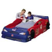 Step 2 Stock Car Bed with Toddler Mattress