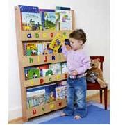 Tidy Books Children's Wooden Bookcase In Natural