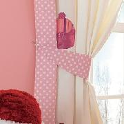 Cup Cakes Curtains with Tie-Backs