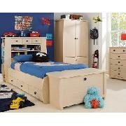 Orlando Single Bed with Optional Mattress