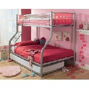 Trio Sleeper Bunk-Bed