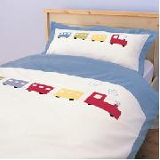 Applique Train Duvet Set (Single)