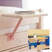 Clip-On Bedside Table