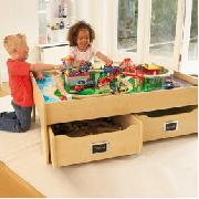 Deluxe Multi-Purpose Playtable with Trundles
