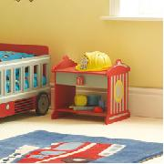 Fire Engine Bedside Table