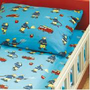 Fireman Jersey Duvet Set (Single)