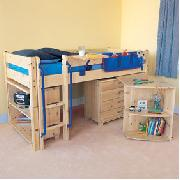 Midsleeper Cabin Bed - Short Size