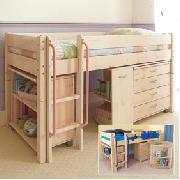 Midsleeper Cabin Bed - Single Size