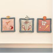 Sports Champion Wall Hanging