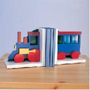 Train Bookends
