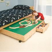 Underbed Play Trundle with Drawers