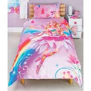 Barbie Fairytopia Single Duvet Cover Set - Pink