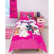 Bratz Ponyz Single Duvet Cover Set - Pink