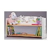 Butterfly Design 2 Shelf Wall Unit