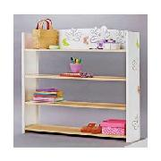 Butterfly Design 4 Shelf Wall Unit