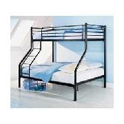 Metal Triple Sleeper - Black