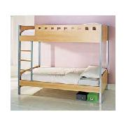 Oslo Single Bunk Bed with Firm Mattresses