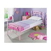 Princess Single Bedstead with Firm Mattress