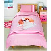 Rachael Hale Koko Single Duvet Set - Pink