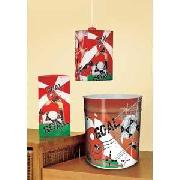 Red Goal Kool Lite Shade and Bin Set