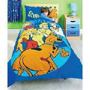 Scooby Doo Cuddle Buddy Duvet Cover Set - Blue