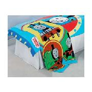 Thomas the Tank Engine and Friends Throw - Blue