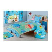 Winnie the Pooh Lazy Days Single Duvet Cover Set - Blue