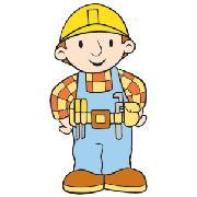Bob the builder boys bob the builder bedroom bob at kids for Bob the builder wall mural