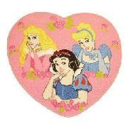 Disney Princess Heart Rug