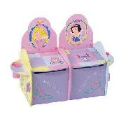 Disney Princess Two Seater Toybox/Bench