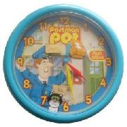 Postman Pat Rotating Parcel Wall Clock