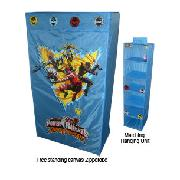 Power Rangers Dino Thunder Zipperobe and Hanging Unit