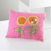 Freckles by Dorma - Butterfly Garden Quilted Cushion