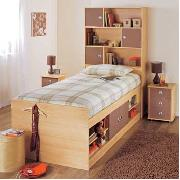Cappuccino Cabin Bed