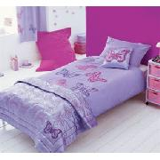 Butterfly Applique Single Bedlinen Set