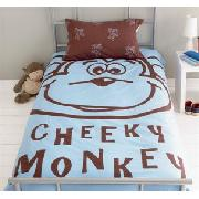 Cheeky Monkey Single Bedlinen Set