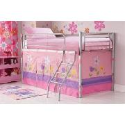 Daisy Silver Midi Sleeper Bed