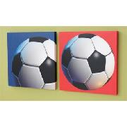 Photographic Football Print Wall Art
