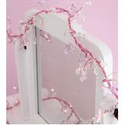 Pink Lit Beaded Garland