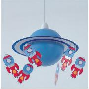 Rocket Applique Shade