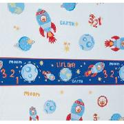 Rocket Applique Sticker Set