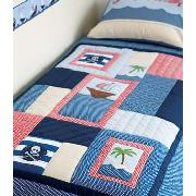 Ship Ahoy Quilted Throw