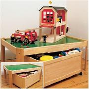 All Purpose Play Table with 2 Large Storage Bins