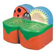 Back To Nature Ladybird 2 Seat Sofa