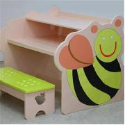 Bee Computer Desk and Bench