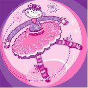 Bella the Ballerina Canvas Small